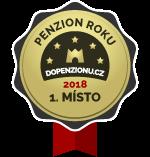 Nejlepší penzion roku 2018 - vítěz hlavní kategorie